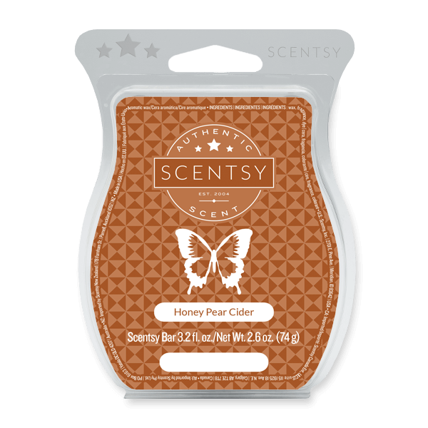 Honey Pear Cider Scentsy Bar