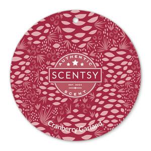 Cranberry Garland Scent Circle