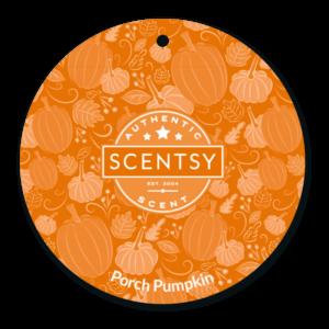 Porch Pumpkin Scent Circle