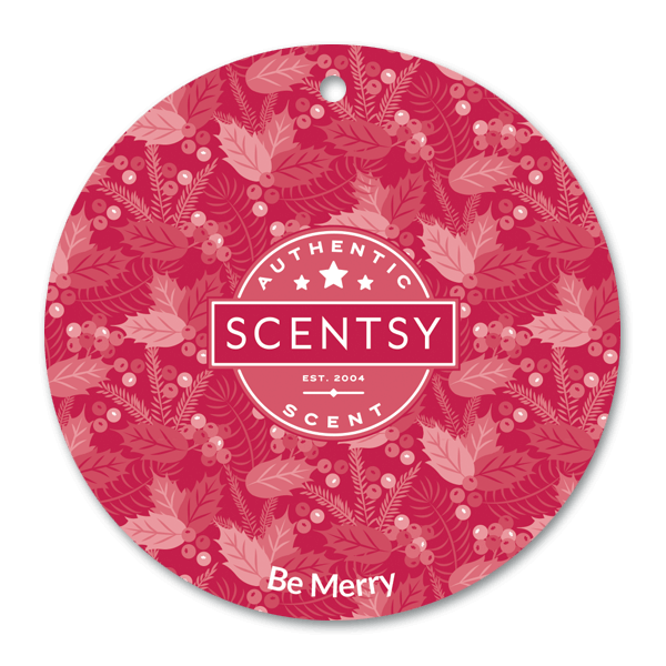 Be Merry Scent Circle