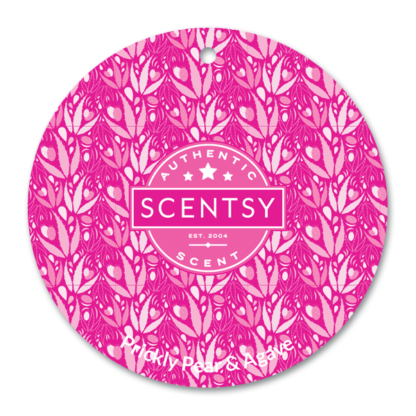 Prickly Pear & Agave Scent Circle