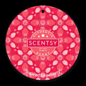 Sugared Strawberry Scent Circle
