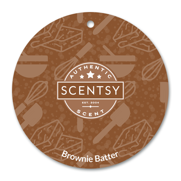 Brownie Batter Scent Circle