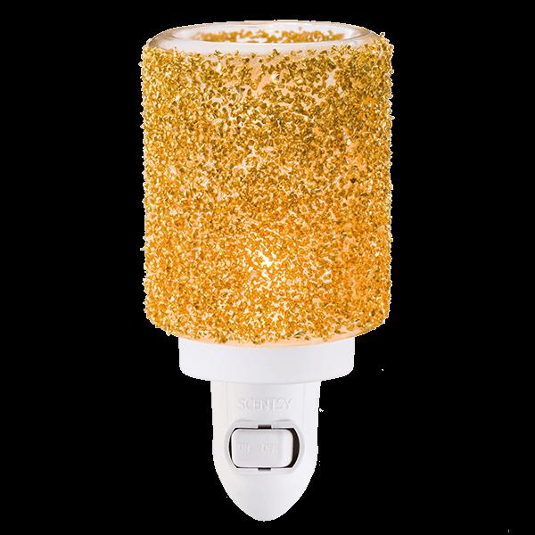 Glitter Gold Mini Warmer