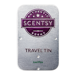 Iced Pine Scentsy Travel Tin