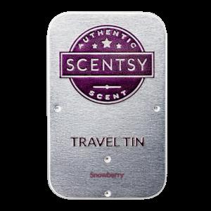 Snowberry Scentsy Travel Tin