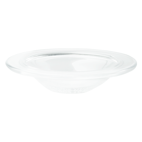 Large Glass Slump Dish