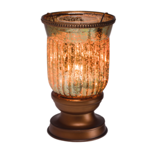 Amber Fluted Shade Warmer