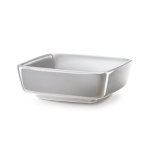 Replacement Dish for Classic Curve Glass Gray Scentsy Warmer.
