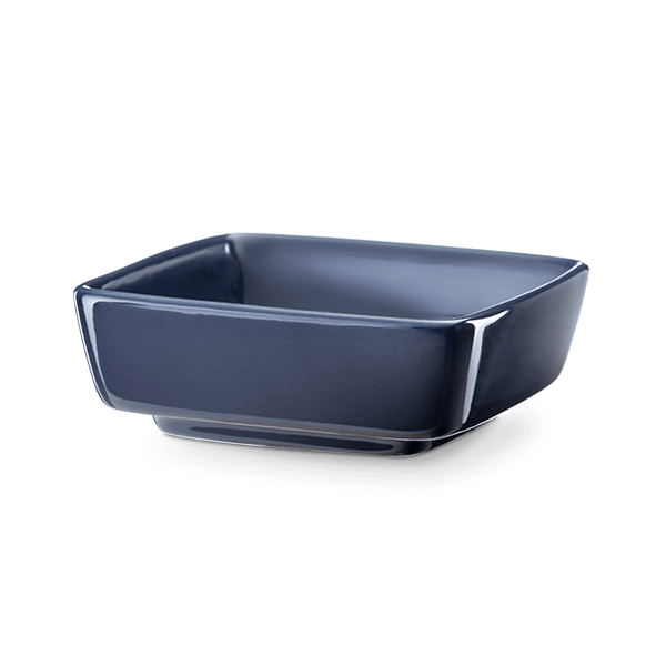 Replacement Dish for Classic Curve Gloss Navy Scentsy Warmer.
