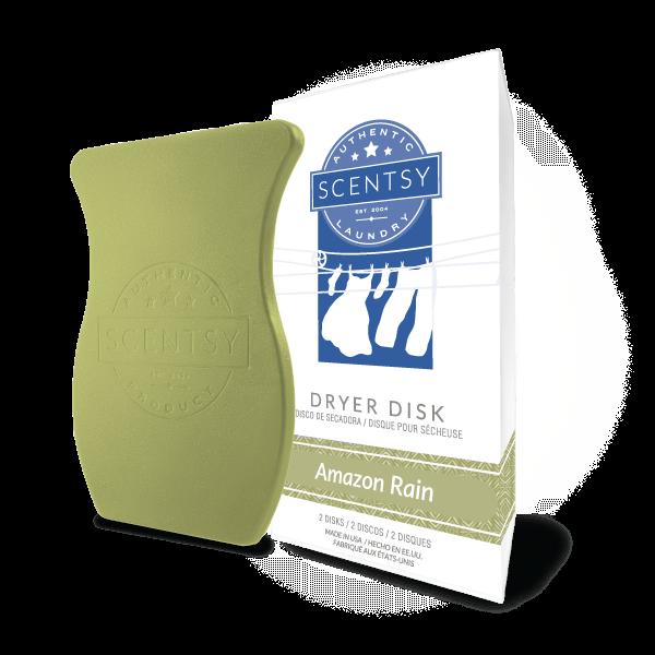 Amazon Rain Scentsy Dryer Disks