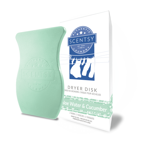 Aloe Water & Cucumber Scentsy Dryer Disks