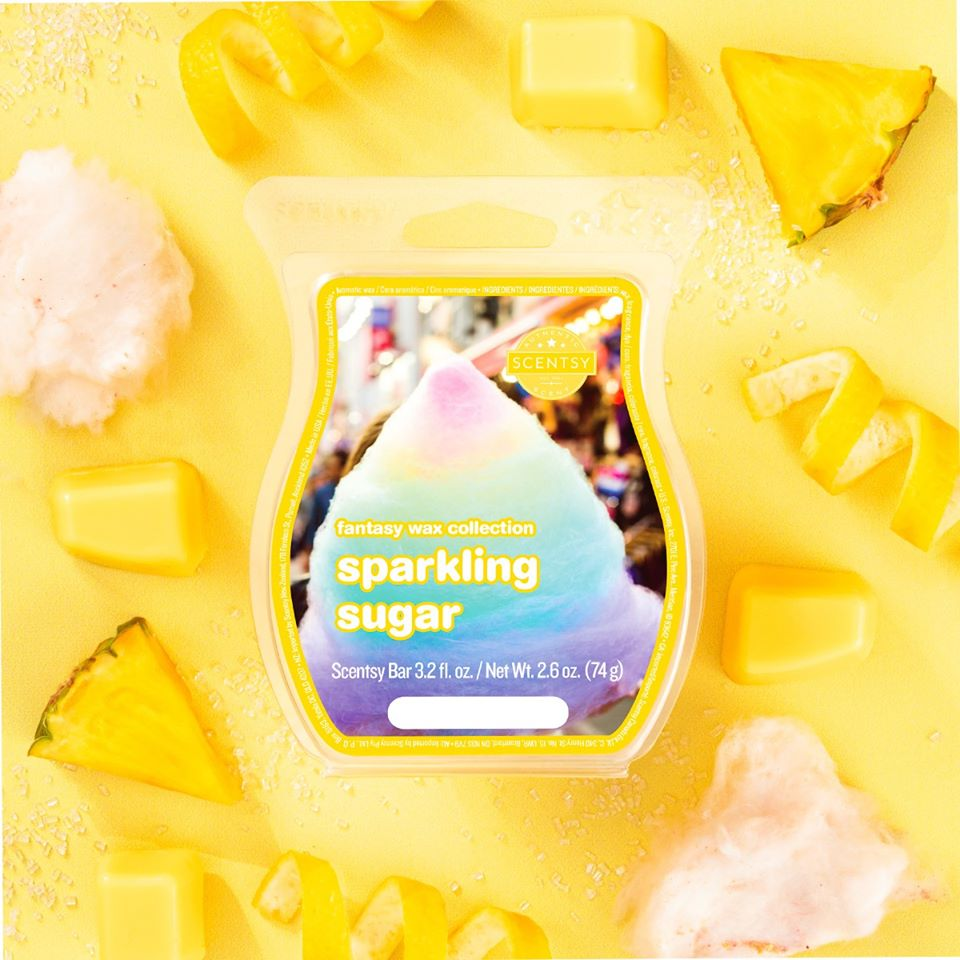 Sparkling Sugar Scentsy Bar
