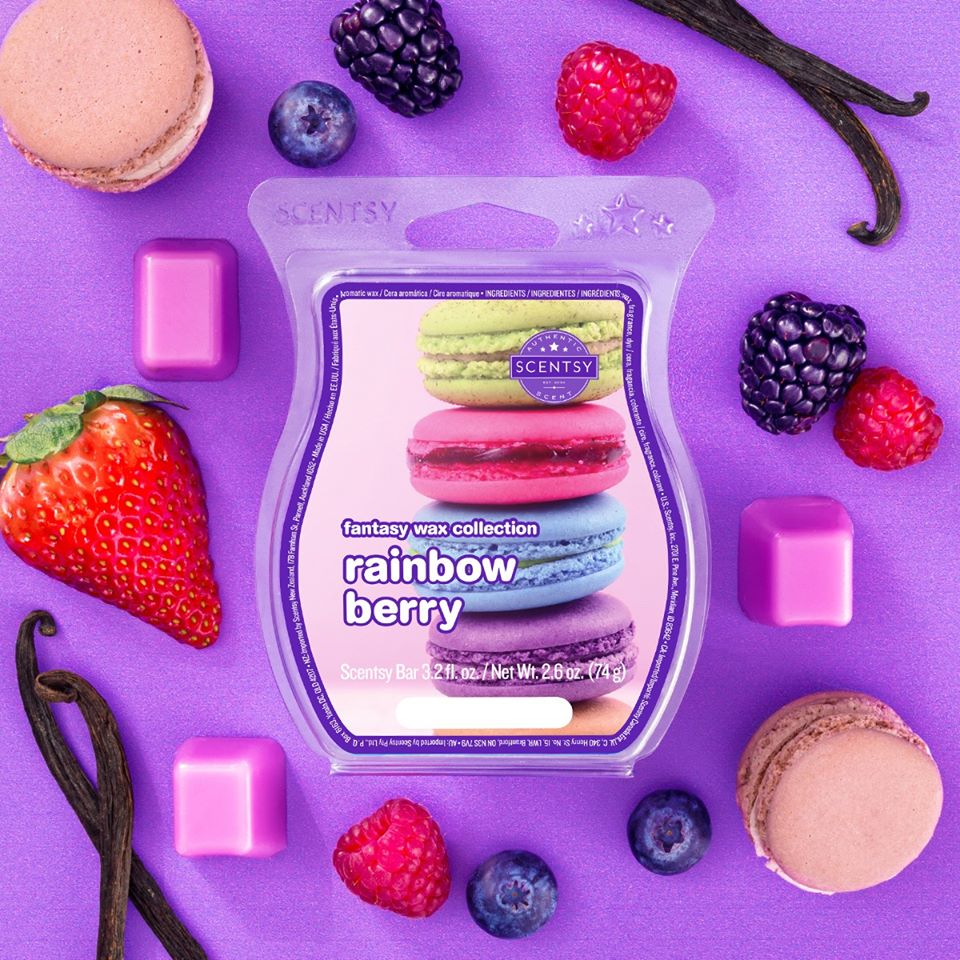 Rainbow Berry Scentsy Bar