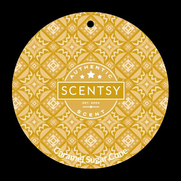 Caramel Sugar Cone Scentsy Scent Circle