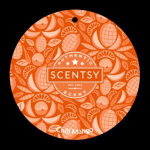 Chili Mango Scentsy Scent Circle