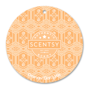 Dewy or Don't We Scentsy Scent Circle