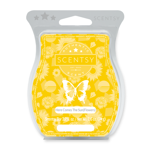 Here Comes the Sun(flowers) Scentsy Bar