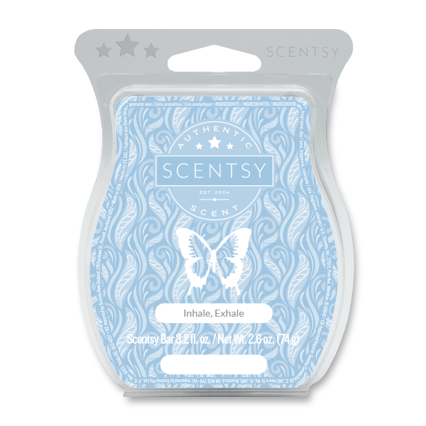 Inhale, Exhale Scentsy Bar