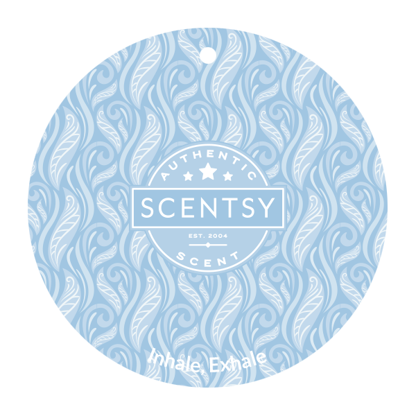 Inhale, Exhale Scentsy Scent Circle