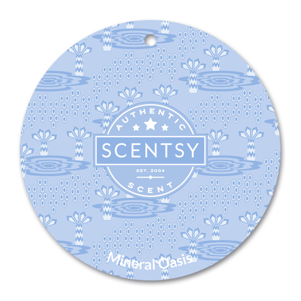 Mineral Oasis Scentsy Scent Circle