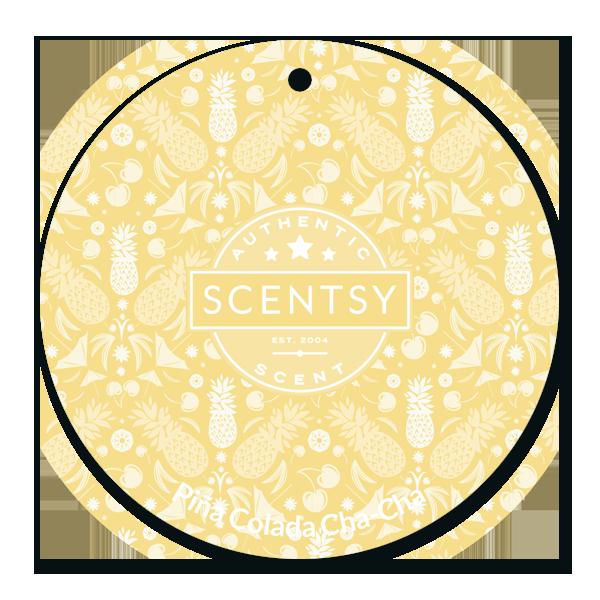 Piña Colada Cha-Cha Scentsy Scent Circle