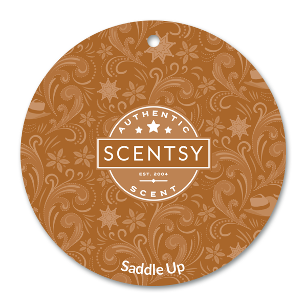 Saddle Up Scentsy Scent Circle