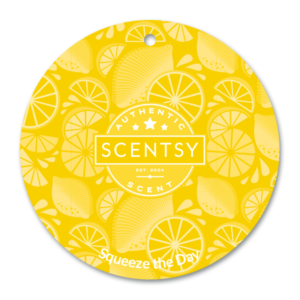 Squeeze the Day Scentsy Scent Circle
