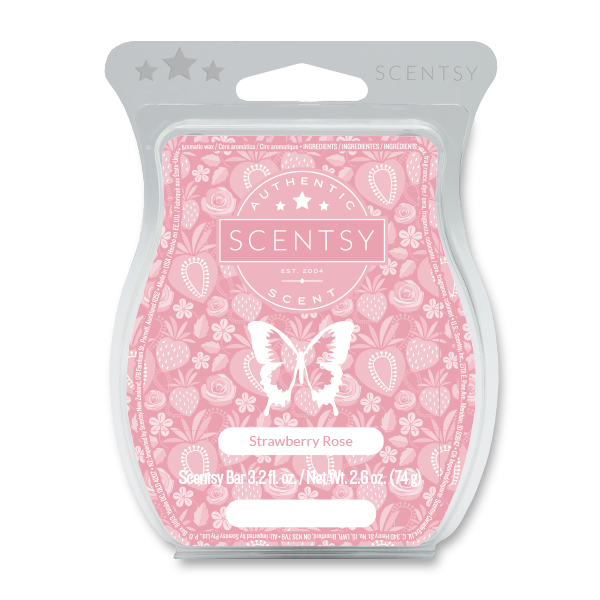 Strawberry Rose Scentsy Bar