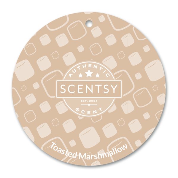 Toasted Marshmallow Scentsy Scent Circle