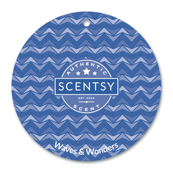 Waves & Wonders Scentsy Scent Circle