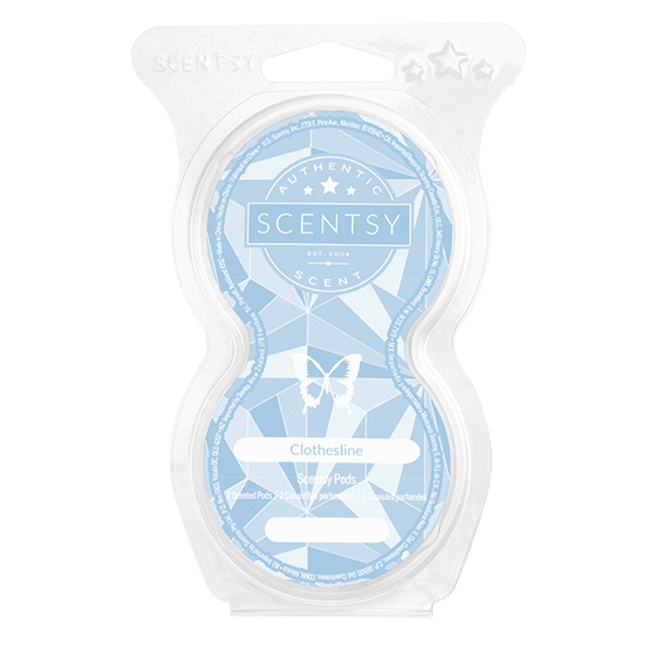 Clothesline Scentsy Pod Twin Pack