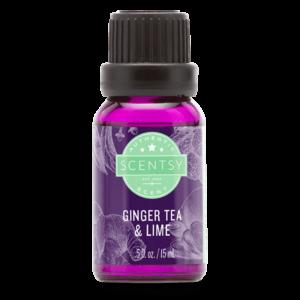 Ginger Tea & Lime Natural Oil Blend