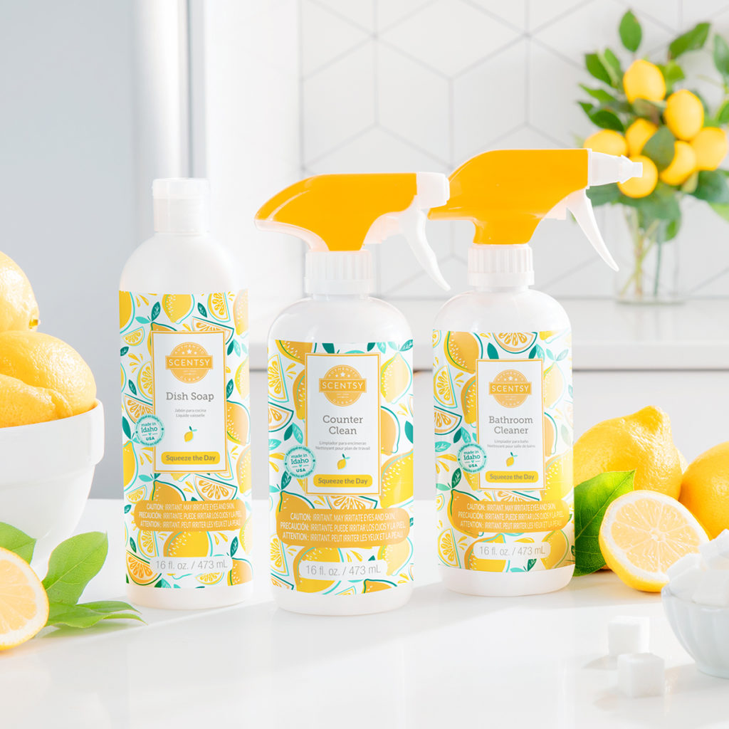 Squeeze The Day Scentsy Clean