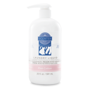 Pink Cotton Scentsy Laundry Liquid