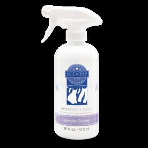 Lavender Cotton Scentsy Fresh Fabric Spray