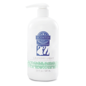 Aloe Water & Cucumber Scentsy Laundry Liquid
