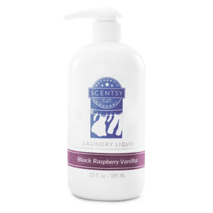 Black Raspberry Vanilla Scentsy Laundry Liquid