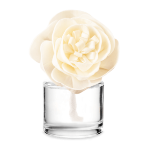 Iridescent Pearl Scentsy Fragrance Flower - Buttercup Belle