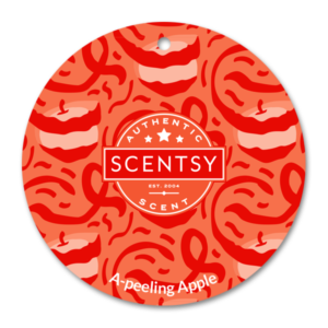 A-peeling Apple Scentsy Scent Circle
