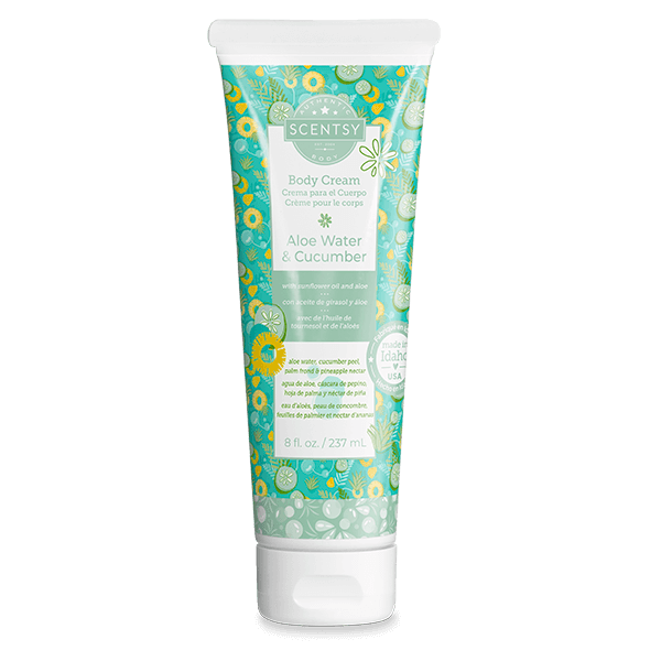 Aloe Water & Cucumber Scentsy Body Cream