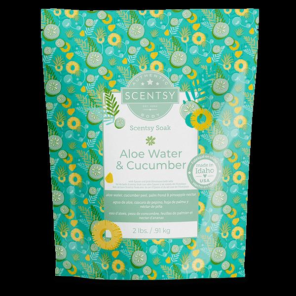 Aloe Water & Cucumber Scentsy Soak