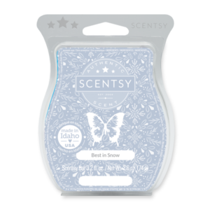 Best In Snow Scentsy Bar Frosted evergreen, cool mint and a breath of pure icy air pose together in a prize-winning winter snapshot.