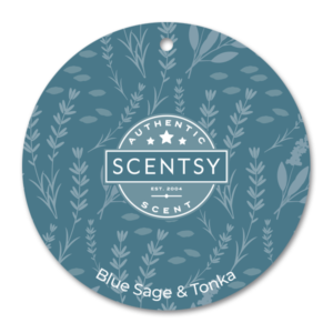 Blue Sage & Tonka Scentsy Scent Circle