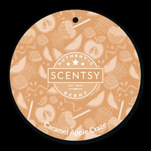 Caramel Apple Craze Scentsy Scent Circle