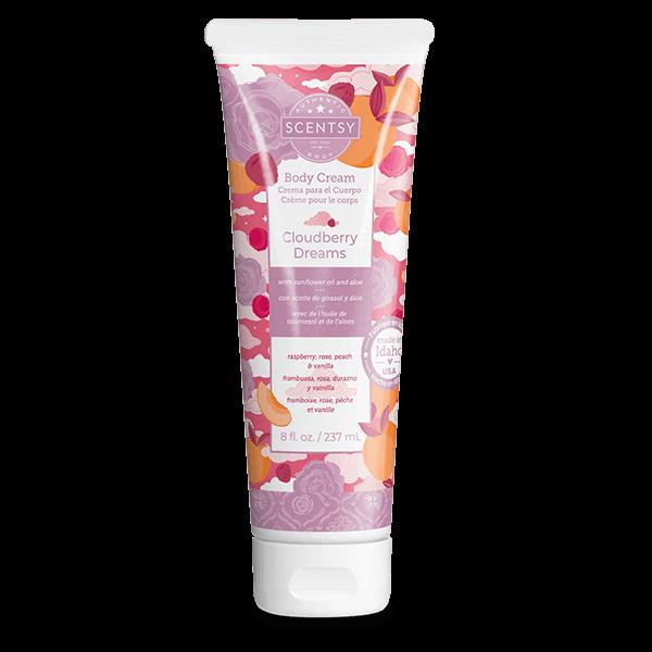 Cloudberry Dreams Scentsy Body Cream