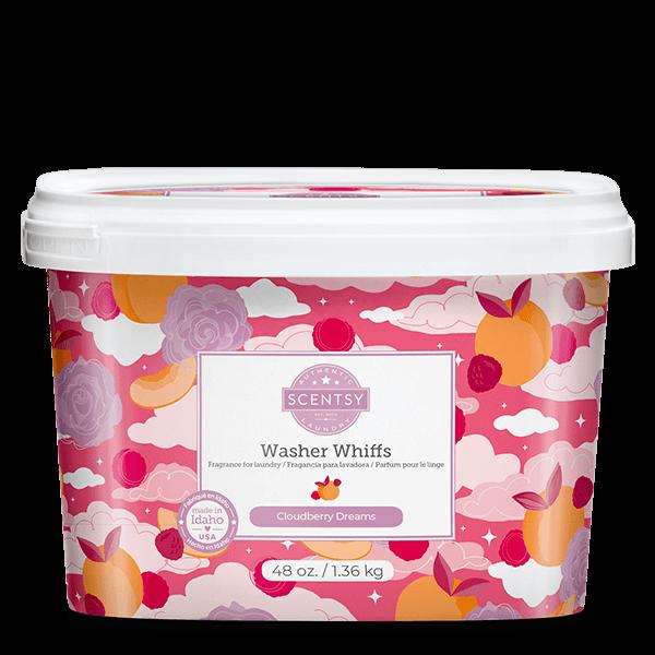 Cloudberry Dreams Scentsy Washer Whiffs Tub