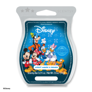 Disney Mickey Mouse & Friends - Scentsy Bar Celebrate everlasting friendship with a fragrance almost as sweet thanks to GEORGIA PEACH accented by pops of ORANGE PEEL and VANILLA.