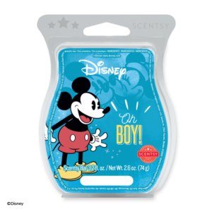 Disney Oh Boy! – Scentsy Bar In honour of a true original, juicy grapefruit cheerfully mixed with bright clementine and sugared vanilla is one of a kind — just like Mickey Mouse!