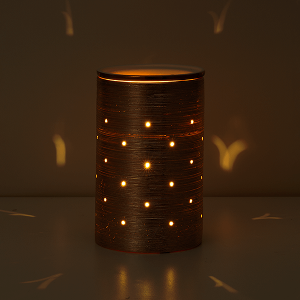 Etched Core Rose Gold Scentsy Warmer